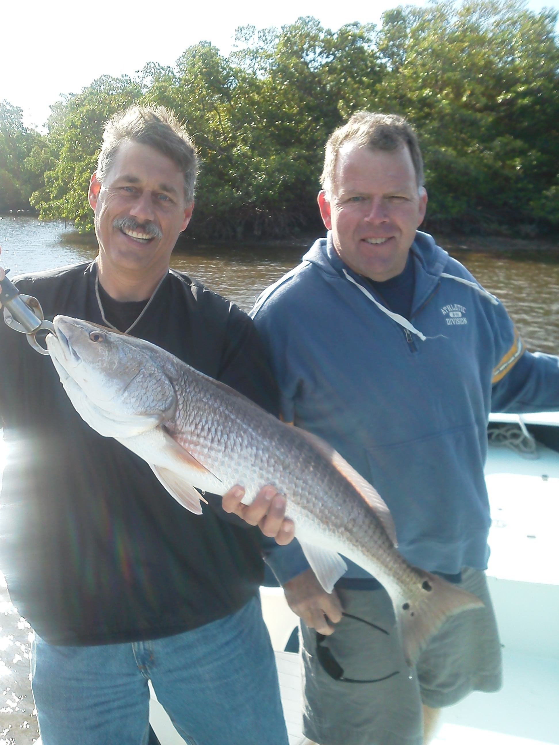 November redfish bob maynes fishing charters and boat for Marco island fishing report