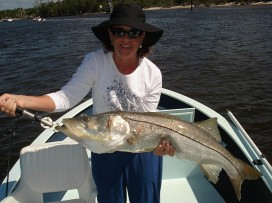 Dorrie Barton big snook 2