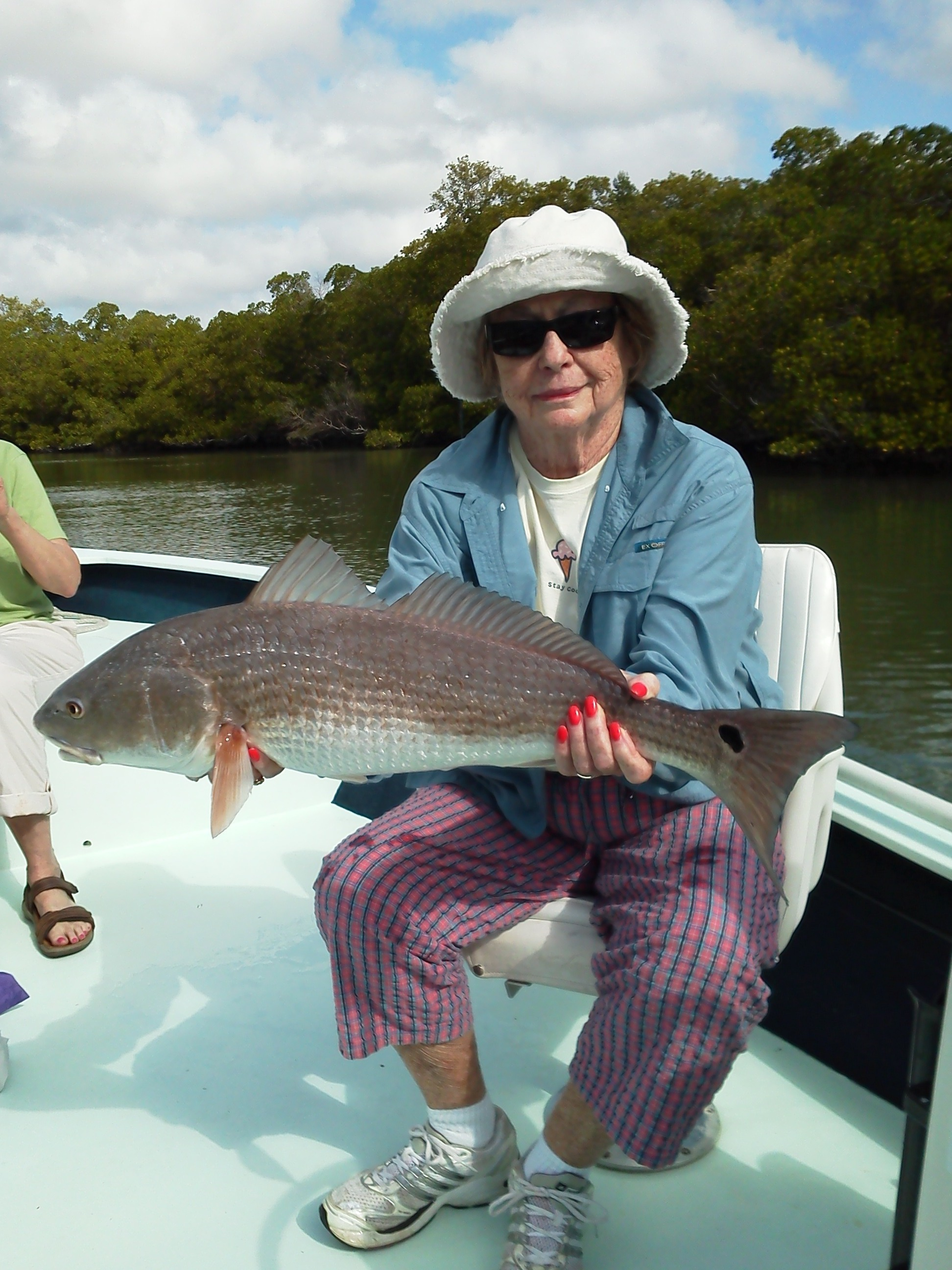 Redfish Margaret March 2012 Fishing Charters And Boat