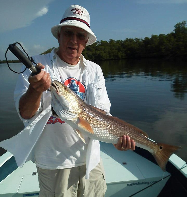 August red 2 mccann fishing charters and boat tours in for Fishing charters marco island fl