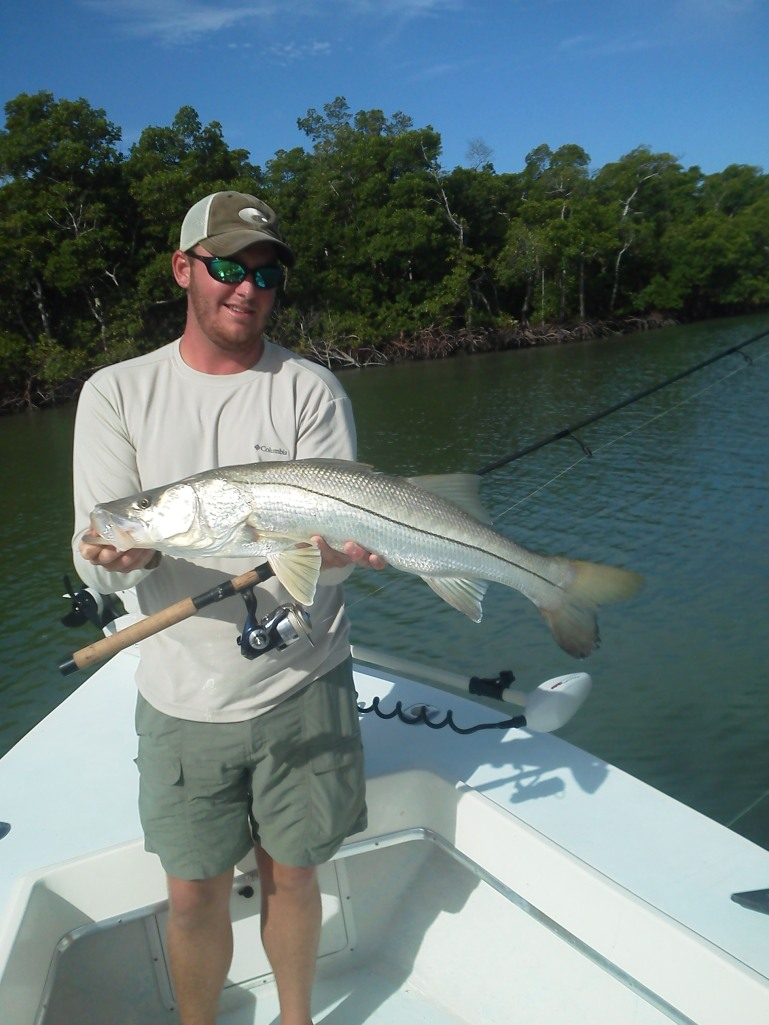 Another big snook for Ben
