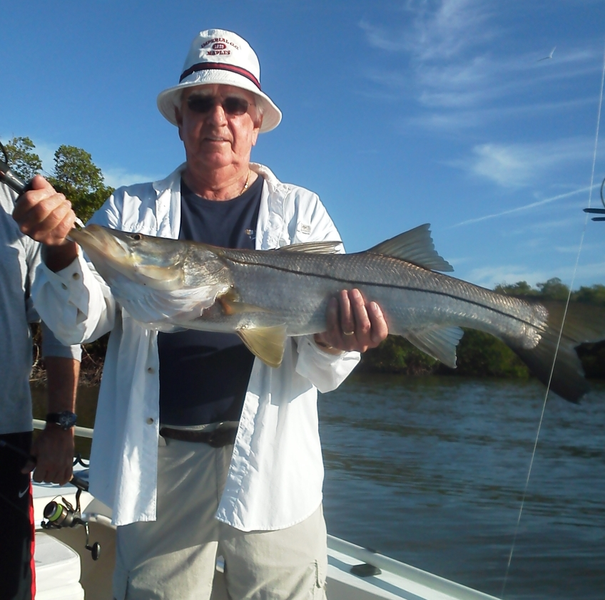 Mccann snook fishing charters and boat tours in naples for Charter fishing marco island