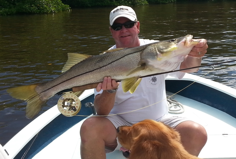 Capt. Todd Geroy with a giant 40