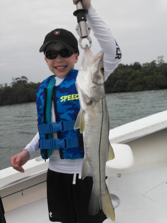 Tanner Noethling with a very nice snook catch!